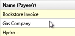 Convert CSV files with splits Step 5: Name