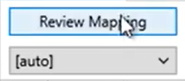 Convert CSV files with splits Step 6: Review Mapping