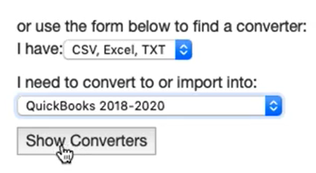 How to download ProperSoft converter macOS Step 4: form show converters