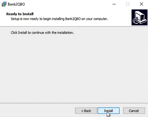 How to install a ProperSoft converter Win Step 5: Install