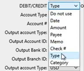 Mapping CSV files Step 8: review mapping type