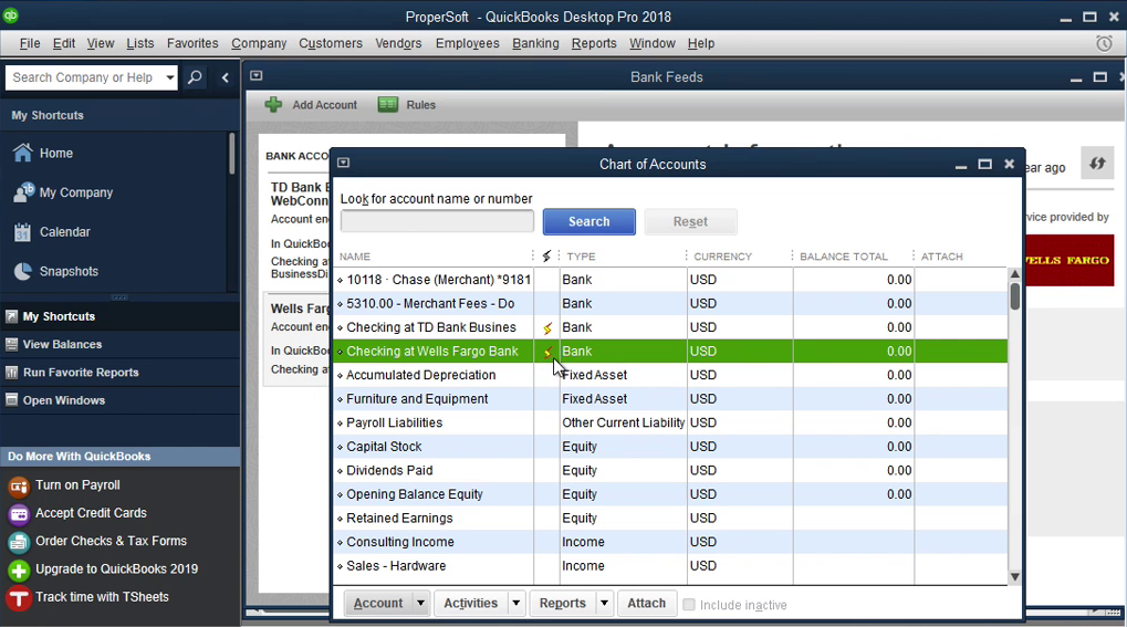 QIF2QBO: Convert QIF to QBO and import into Quickbooks Step 11: yellow strike