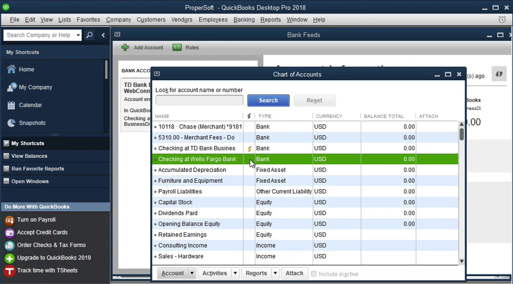 QIF2QBO: Convert QIF to QBO and import into Quickbooks Step 14: yellow strike is gone