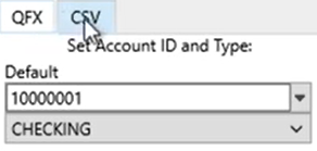Set attributes to convert to the CSV format Step 2: csv tab