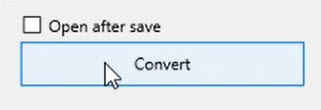How to use Transactions Step 11: Open after save