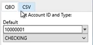 Use Convert button to convert files Step 2: to QBO or to CSV