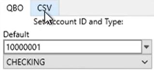 How to use PDF2QBO converter Step 19: Target