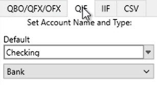 How to work with CSV or Excel files Step 2: converting to QIF