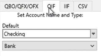How to work with transactions Step 2: select the Output format